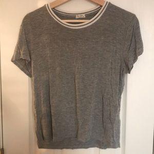 brandy melville grey tshirt